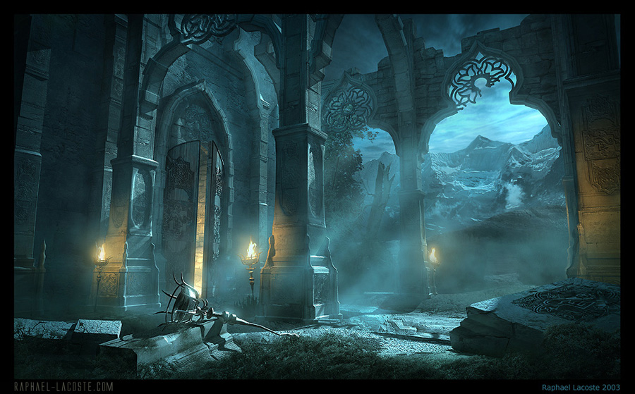 The eery, dreamlike ruins of Malik Shah's Sanctuary