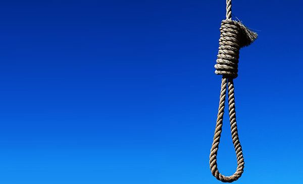 photo of a hanging noose