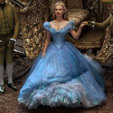 Disney's Cinderella in blue gown
